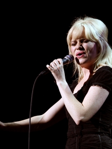 Singer Duffy performs on stage at the Sydney Opera House on March 26, 2009 in Sydney, Australia
