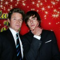 Billy Bush and Zac Efron at ShoWest 2009