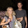 Julianne Hough and Chuck Wick sighting on April 6, 2009 in Los Angeles, California