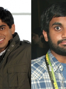 Anoop Desao and Aziz Ansari