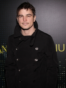 Josh Hartnett attends the Giorgio Armani store opening on Fifth Avenue on February 17, 2009 in New York City
