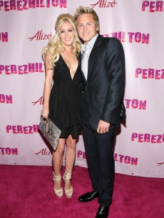 Heidi Montag and Spencer Pratt arrive at Perez Hilton's 'OMFB' 31st Birthday Party held at The Viper Room on March 28, 2009 in West Hollywood, California