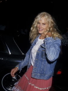Daryl Hannah at the LA premiere of &#8220;Roxanne&#8221; on June 19, 1987.