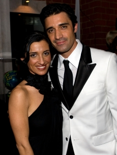 Gilles Marini and his wife, Carole Marini attend 'Party With A Purpose' at Mr. Chow, February 22, 2009