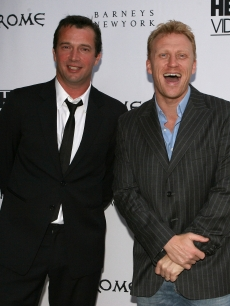 James Purefoy and Kevin McKidd arrive to celebrate the DVD release of 'Rome: The Complete Second Season' at Barney's New York on August 4, 2007 in Beverly Hills
