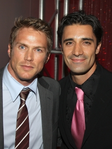 Jason Lewis and Gilles Marini at the 'Sex and The City' premiere, May 2008