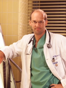 Anthony Edwards as Dr. Mark Greene in ER