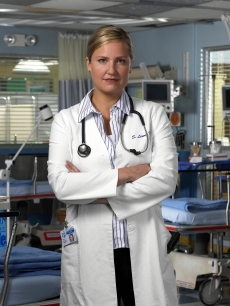 Sherry Stringfield as Dr. Susan Lewis in ER