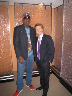 Dennis Rodman and Billy Bush