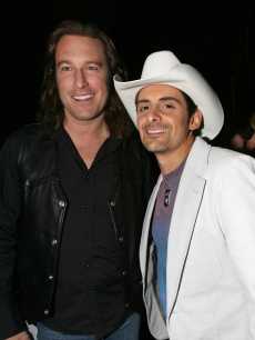 John Corbett and Brad Paisley back at the Academy of Country Music Awards 2006