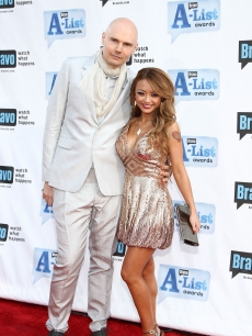 Billy Corgan and Tila Tequila stuck together at Bravo's 2nd annual A-List Awards