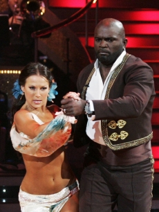 Lawrence Taylor and Edyta Sliwinska on 'Dancing With the Stars' (April 6, 2009)