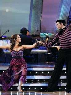 Lacey Schwimmer and Steve-O on 'Dancing With the Stars' (April 6, 2009)