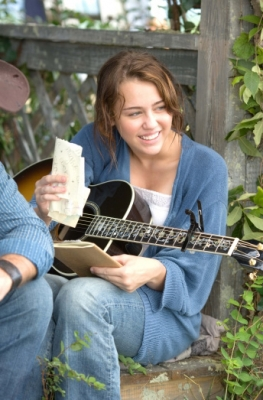 Miley Cyrus in the 'Hannah Montana' movie