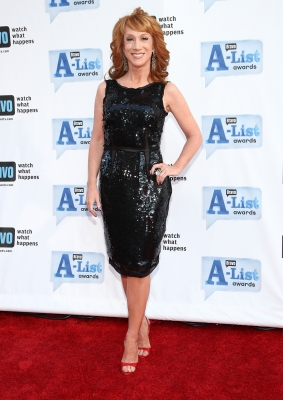 Host Kathy Griffin arrives at Bravo&#8217;s 2nd annual A-List Awards held at the Orpheum Theater on April 5, 2009 in Los Angeles, California