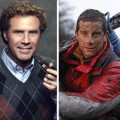 Will Ferrell and Bear Grylls
