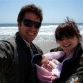 Alexis Denisof and Alyson Hannigan show off their new baby girl, Satyana Denisof, on April 16, 2009
