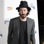 Keanu Reeves arrives at the premiere of 'Anvil! The Story of Anvil'