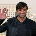 Hugh Jackman attends a photocall before his premiere of 'X-Men Originals: Wolverine' on April 13 2009 in Moscow, Russia