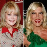 Candy Spelling and Tori Spelling