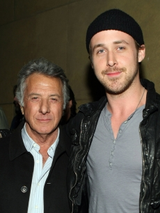 Dustin Hoffman and Ryan Gosling at the after party of 'Anvil! The Story Of Anvil' at the Egyptian Theater on April 7, 2009 in LA