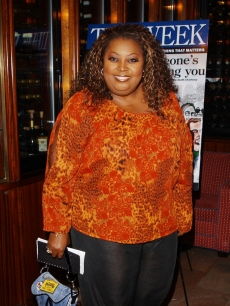 Star Jones in 2002, reportedly weighing in at 300 pounds
