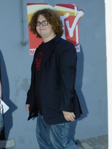 A rounder Jack Osbourne arrives at the London MTV studios in August, 2003