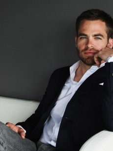 Chris Pine in Sydney, 2009