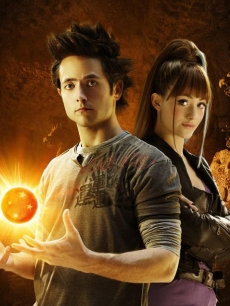 Justin Chatwin and Emmy Rossum in 'Dragonball Evolution'