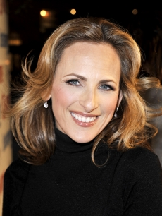 Marlee Matlin at the farewell party for Showtime's 'The L Word' in Hollywood (March 3, 2009)