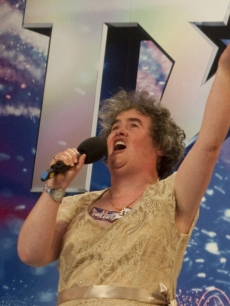 Susan Boyle wows the crowd on &#8216;Britain&#8217;s Got Talent&#8217;