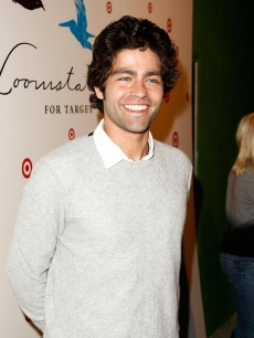 Adrian Grenier arrives at the launch of Loomstate For Target Collection