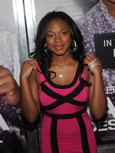 Keisha Knight Pulliam attends a screening of Tyler Perry&#8217;s &#8216;Madea Goes to Jail&#8217; at the AMC Loews Lincoln Center on February 18, 2009 in New York City