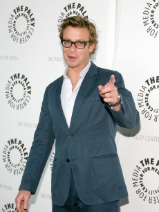 Simon Baker goes 'Mentalist' at PaleyFest09 in LA