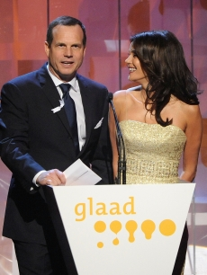 Bill Paxton and Teri Hatcher take the stage at the 20th Annual GLAAD Media Awards in LA