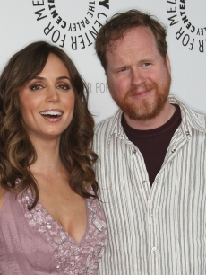 "Eliza Dushku Joss Whedon ""Dollhouse"" At PaleyFest09"