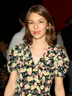 Sofia Coppola at NY Fashion Week 2008