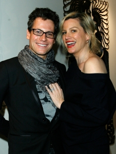 Ioan Gruffudd and Alice Evans attend the Dior and Vanity Fair launch of BRANDAID Foundation held at Environment on February 19, 2009 in West Hollywood, California