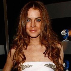 Lindsay Lohan Hits The Red Carpet At A/X Watch Event (April 16, 2009)