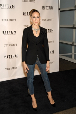 Sarah Jessica Parker at the Bitten launch in New York (May 2007)