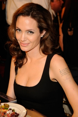 Angelina Jolie at the 2008 Critics Choice Awards