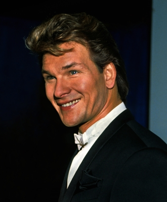 Patrick Swayze at Grammys 1990