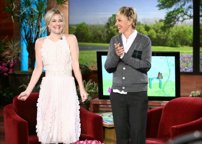 Drew Barrymore on 'The Ellen DeGeneres Show'