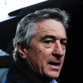 Robert De Niro leaves the Borough of Manhattan Community College on April 21, 2009 in New York City