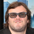 Jack Black does his best monster face at the premiere of 'Monsters Vs. Aliens'