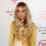 Nicole Richie wears a vintage Ossie Clark top from 'What Comes Around Goes Around'
