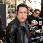 Trent Reznor shows off his rock 'n' roll style at the premiere of 'Star Trek' in Hollywood