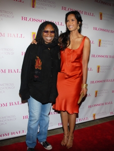 Whoopi Goldberg and Padma Lakshmi attend the 1st Annual Blossom Ball at the Prince George Ballroom on April 20, 2009 in New York City, New York