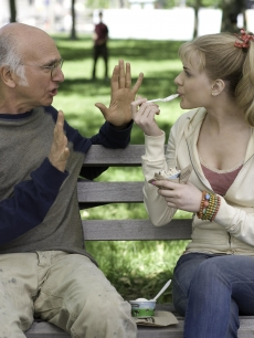 Evan Rachel Wood and Larry David in Sony Classics' 'Whatever Works,' which hits theaters June 19, 2009