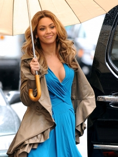 Beyonce Knowles visits 'Late Show with David Letterman' at the Ed Sullivan Theater on April 22, 2009 in New York City, New York